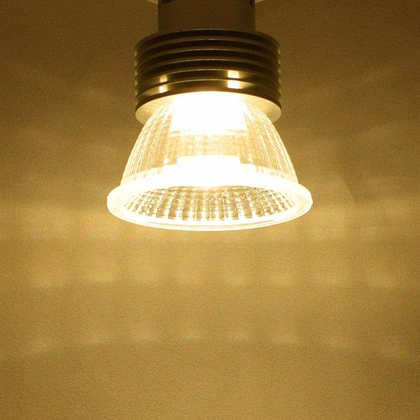 画像4: LED電球 E11 5W JDRφ50タイプ 高演色Ra95 2700K 電球色 ハロゲンランプ40W-50W相当+LCX100E111(旧:Y07LCX100X02)器具セット