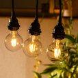 画像4: 【新商品】LED電球 E26 フィラメント電球 ボール形 4W 360lm 濃い電球色(2100K) 白熱電球30W相当 クリアタイプ 1年保証 (4)