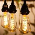 画像6: 【新商品】LED電球 E26 エジソン電球 スパイラル 4W 濃い電球色2100K クリアタイプ 20W-30W相当 1年保証 (6)