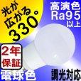 画像3: LED電球 E17 調光器対応 5W 電球色 高演色Ra95 ミニクリプトン球40W交換品 2年保証 (3)