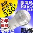 画像3: LED電球 E17 調光器対応 5W 電球色 高演色Ra95 クリアタイプ ミニクリプトン球40W交換品 2年保証