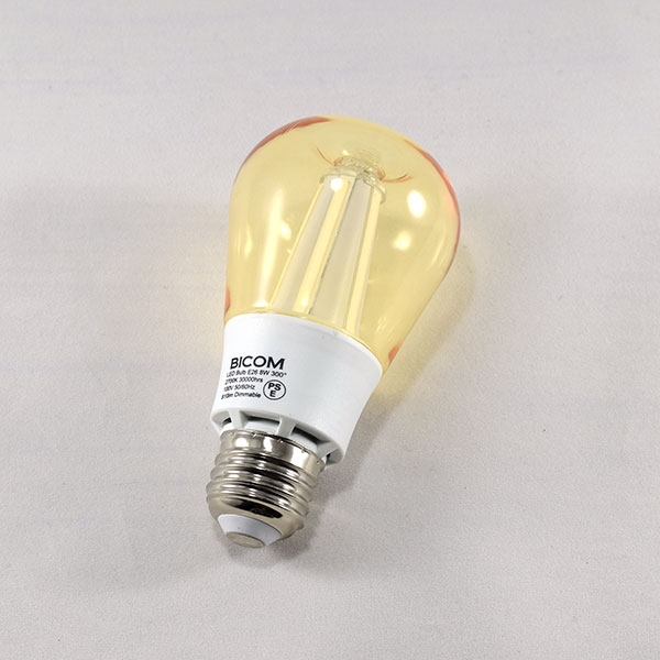 BeeLIGHTのLED電球「BD-1026C-Clear-Retro」の商品画像。