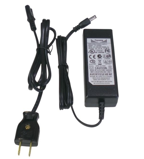 BeeLIGHTのLEDスティック専用ACアダプタ30W「AC-ADAPTER-DC12V30W」の商品画像。