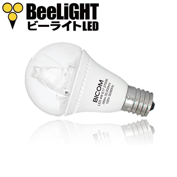 BeeLIGHTのLED電球「BD-0417MC」の商品画像。