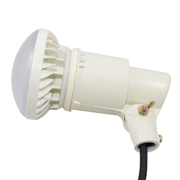 BeeLIGHTのLED電球「BH-1526B-WH-WW-Ra92」の防水器具の使用例。