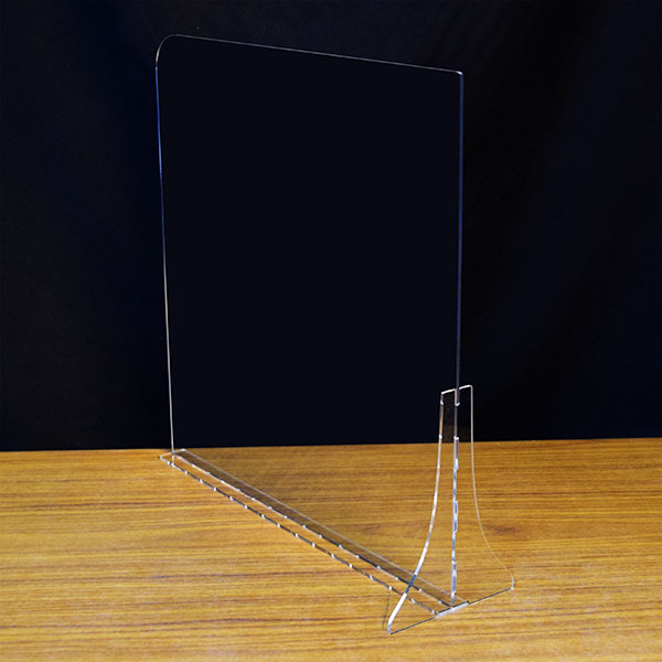 ジョイント特許技術を使ったアクリルパーテーション